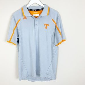 Adidas Mens Short Sleeve Tennessee Volunteers Gray